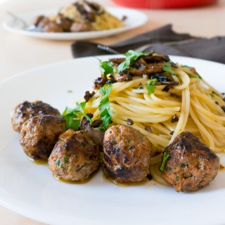 Ultimate Beef-Pork Meatballs