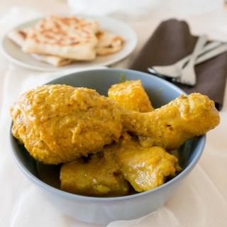 Curry Chicken (Curry Powder Version)