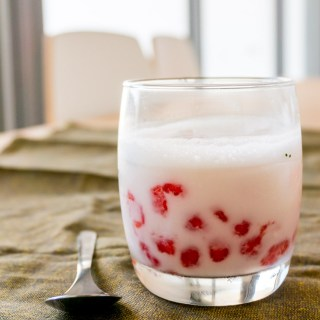 Tub Tim Grob (Thai Red Rubies in Coconut Milk)