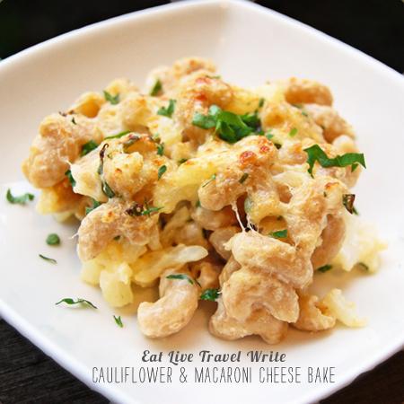 FoodieCrush Magazine Eat Travel Write Cauliflower Macaroni and Cheese