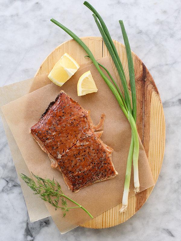 Smoked Salmon Spread | foodiecrush.com