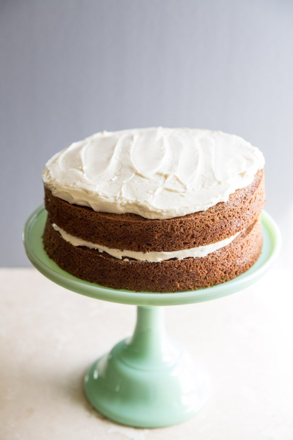Classic Carrot Cake by Vintage Mixer   foodiecrush..com