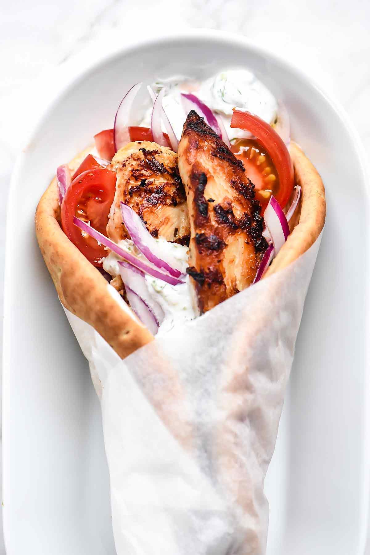 Greek Chicken Tenders Recipe