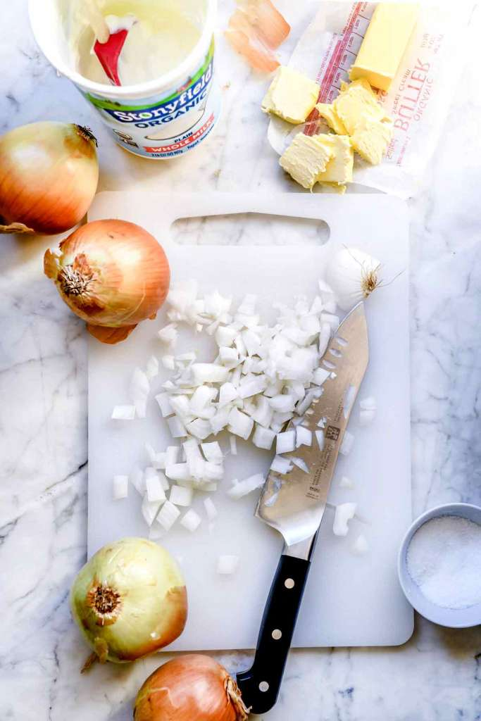 Chopped Onions   foodiecrush.com