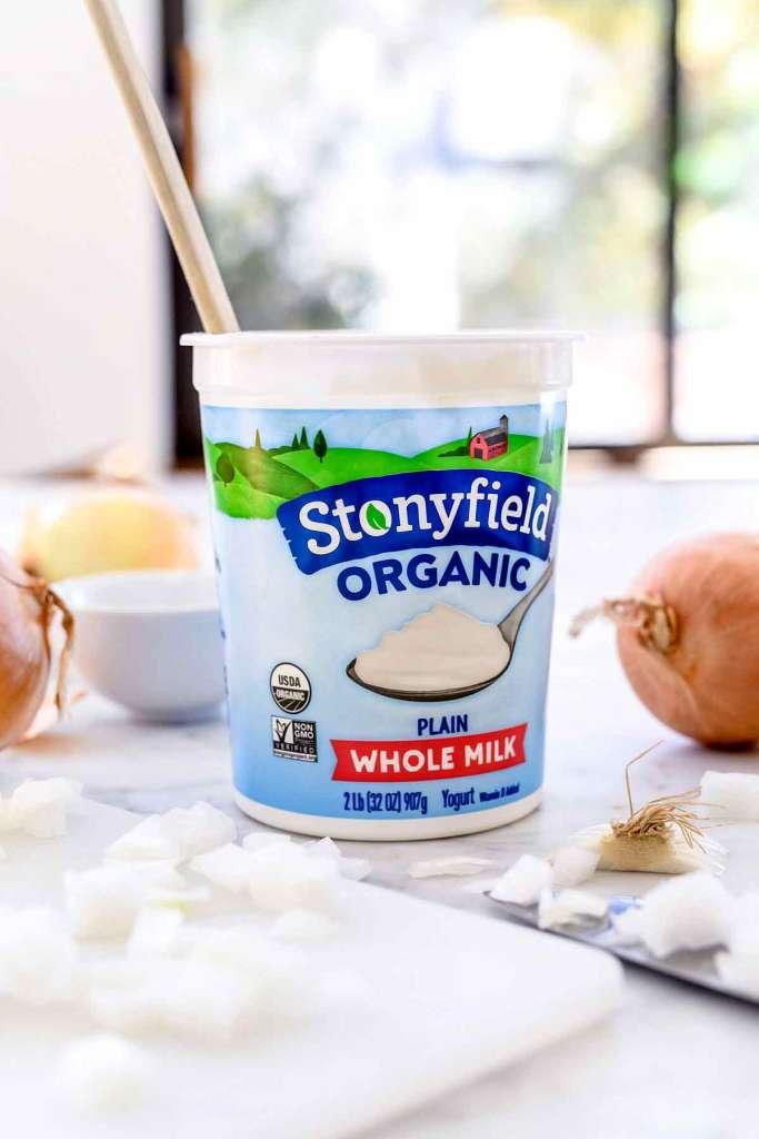 Stonyfield Greek Yogurt   foodiecrush.com