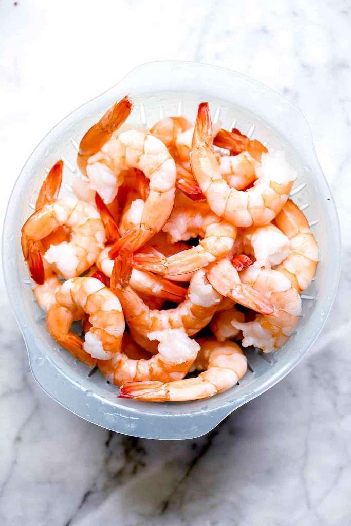 Frozen shrimp thawed   foodiecrush.com