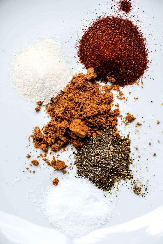 Beef Taco Seasoning Spices   foodiecrush.com #seasoning #spices #taco