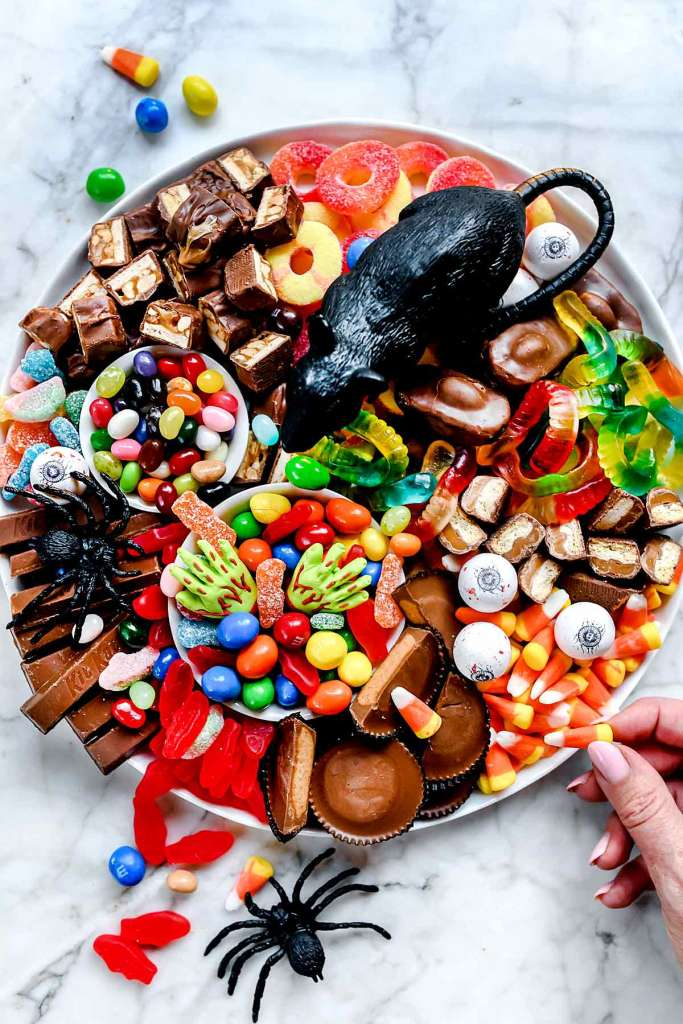 How to Make a Candy Charcuterie Board   foodiecrush.com
