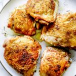 How to Cook THE BEST Chicken Thighs foodiecrush.com