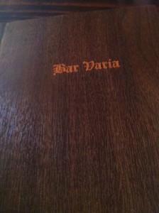 Bar_Varia_menu