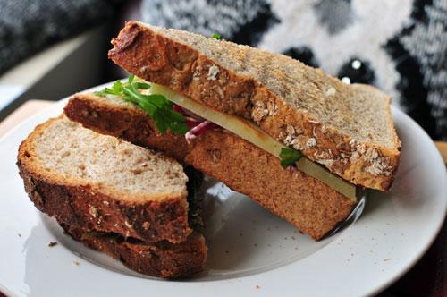 lovestruck cafe - sandwich