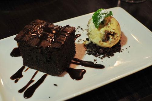 The Magnum Edinburgh - Chocolate Fudge Cake
