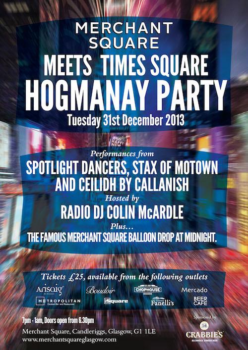 Lifestyle – Merchant Square Hogmanay