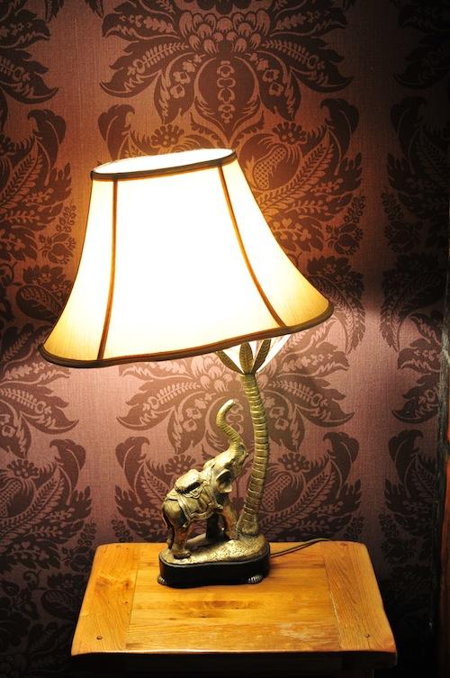 Sun Inn lamp