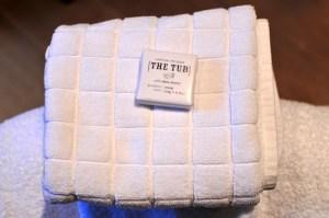 Sun Inn towel