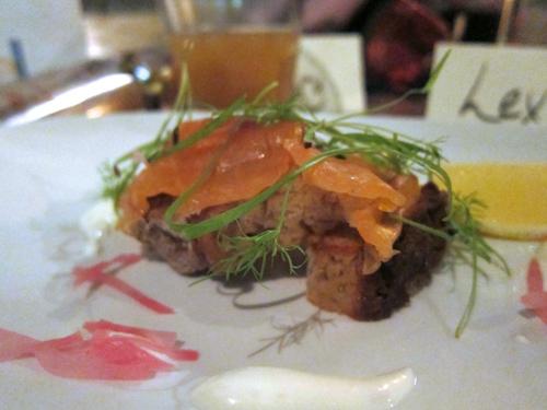 Brel - whisky salmon