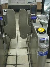Singing ticket barrier