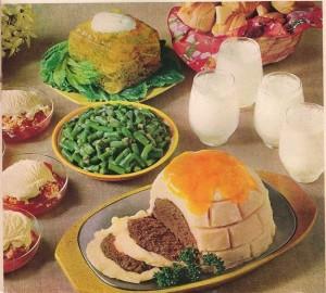 Vintage retro 70's food ideas food and drink Glasgow blog