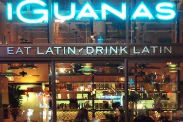 Las Iguanas on West Nile St