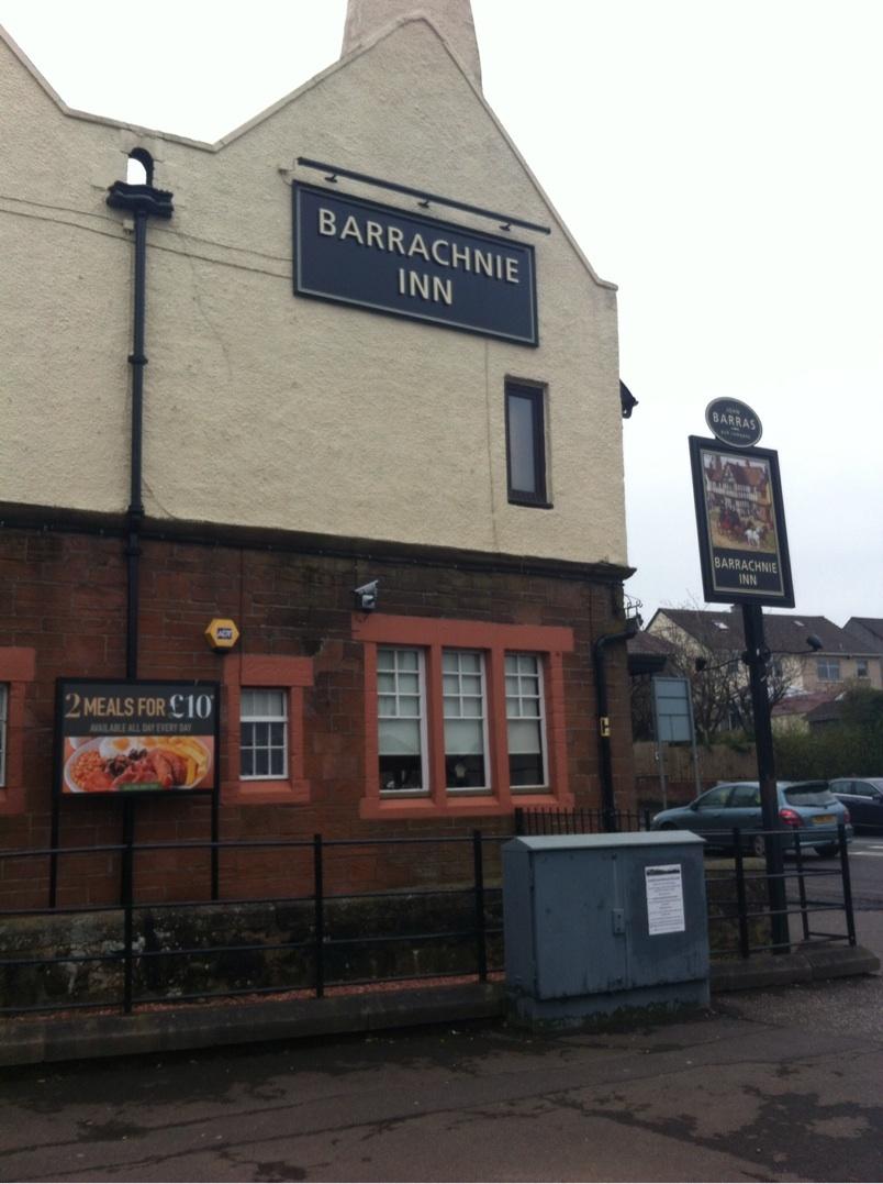 Barrachnie inn Garrowhill Baillieston Glasgow john Barras pub food and drink Glasgow blog