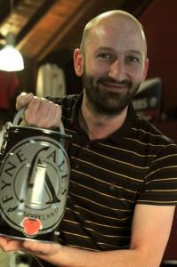 Winner of beer!