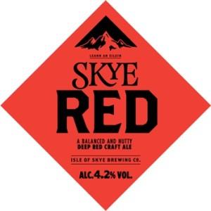 Skye red ale Scottish beer