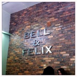Sign Food bell & felix cafe Shawlands Southside food drink Glasgow blog