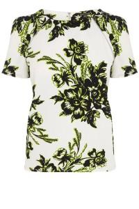 Floral crepe tee tshirt warehouse fashion food drink Glasgow blog