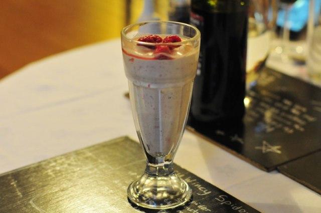 The Old School B&B - Cranachan dessert