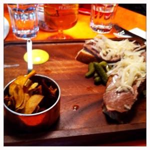 Salt beef brisket the vintage Drygate food and drink glasgow food blog