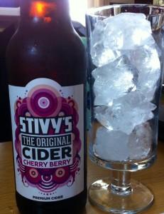 Stivy's cider food and drink Glasgow blog