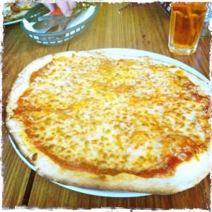 Margherita pizza Yes bar Vespbar Glasgow drury street