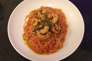Di Mambros Deli - Piccante prawn pasta