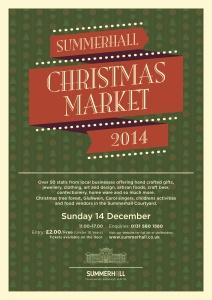 Summerhall Edinburgh Christmas market