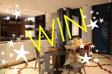 Win Christmas hamper gordon street coffee glasgow