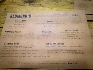 Redmonds of dennistoun Glasgow food drink