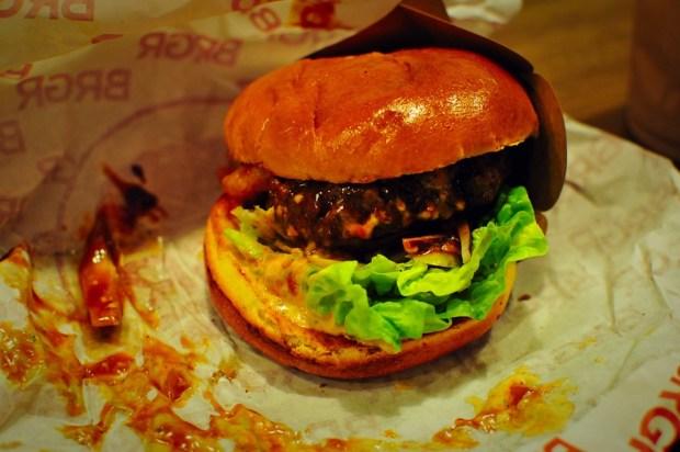BRGR burger Glasgow west end