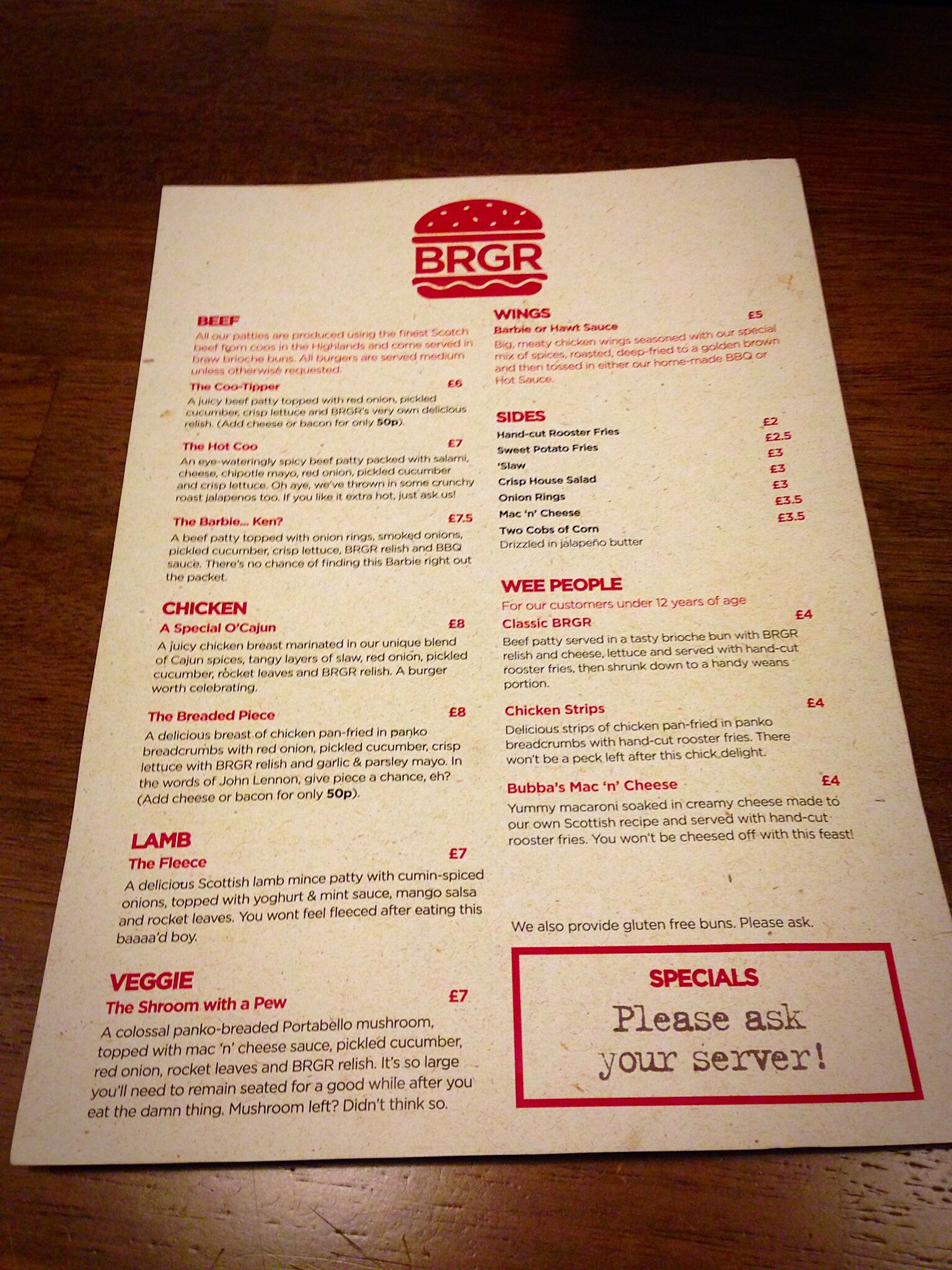Food Review: BRGR, 562 Great Western Road , Glasgow G12 ...