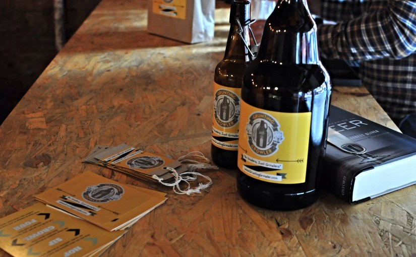 Beer Pop Up – Grunting Growler at the old The Halt Two, 160 Woodlands Road, Glasgow