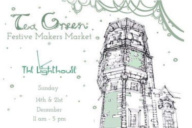 Tea green pop up Christmas the lighthouse Glasgow