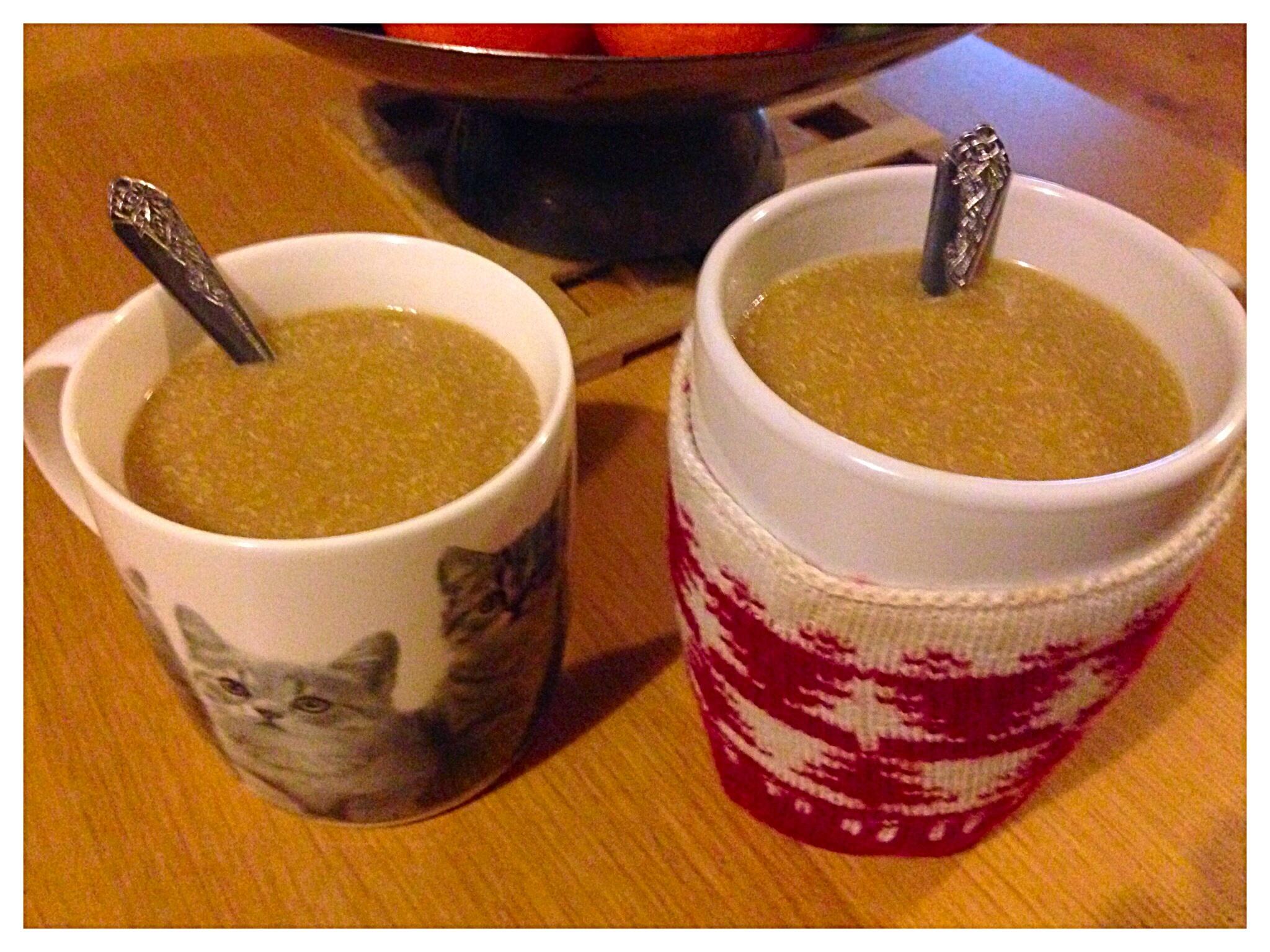 Hot quinoa drink recipe breakfast