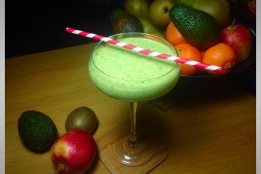 #jumpstart2015 jumpstart smoothie apple avocado and ginger