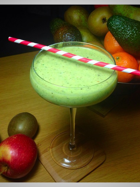 #jumpstart2015 jumpstart smoothie apple avocado and ginger