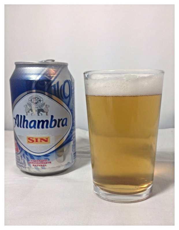 Alhambra Low alcohol beer taste test