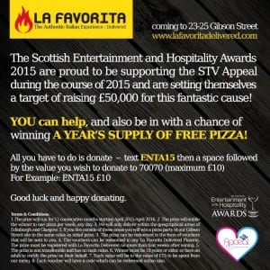 Scottish entertainment and hospitality awards