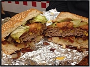 Five guys burgers glasgow