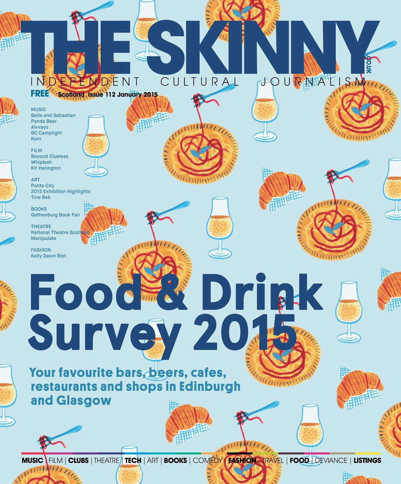 The skinny food and drink survey