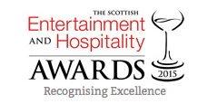 scottish entertainment and hospitality awards 2015