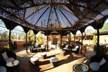 La Sultana - covered roof terrace