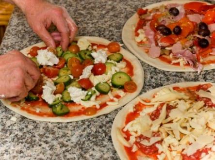tennents training academy glasgow pizza